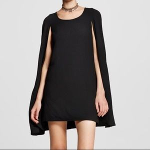 Nasty Gal Cape Dress XS